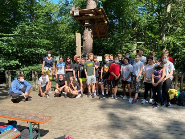 """Ausflug der Klasse 7a zum """"Fun Forest"""" nach Kandel"""