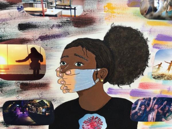 Kunstausstellung in der Realschule: Jahresarbeiten jetzt auch als Video!