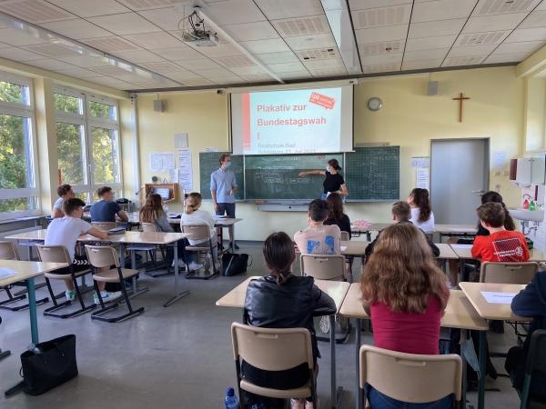 Politische Tage an der Realschule Bad Schönborn